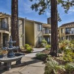 Berry Tree Apartments - Walkway & Water Fountain