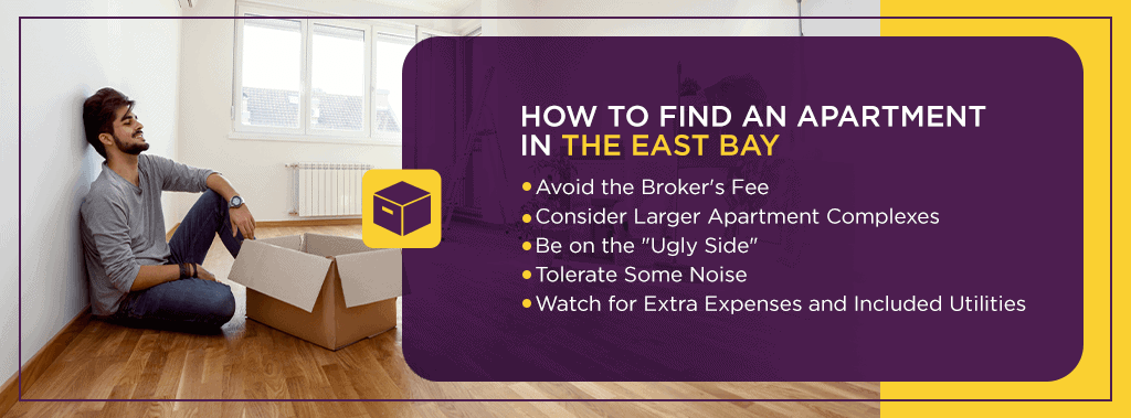 tips to find an apartment in the east bay