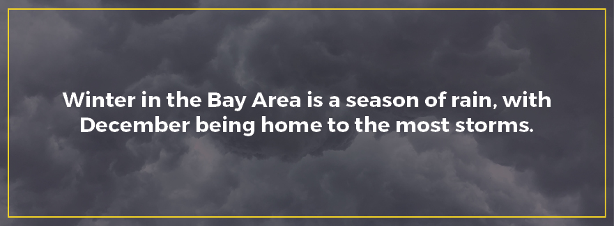 Winter in the Bay Area is a season of rain