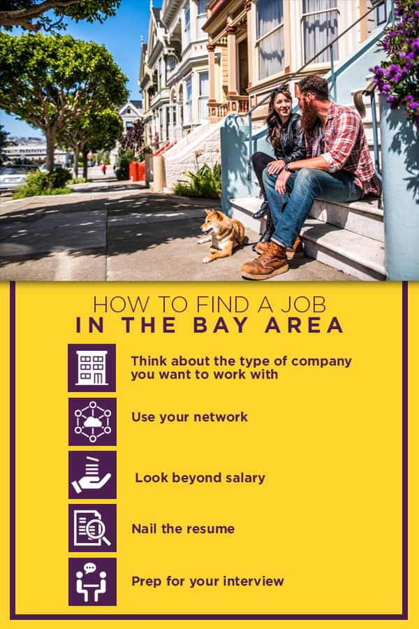 How to find a job in the bay area