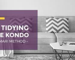 Tidy like Marie Kondo with the Konmari Method