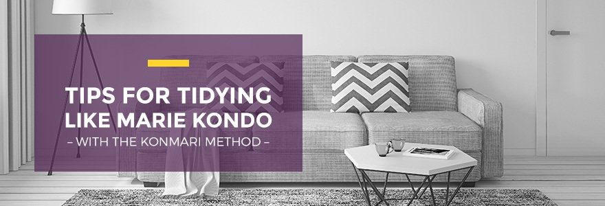 Tips for Tidying Your Apartment Like Marie Kondo