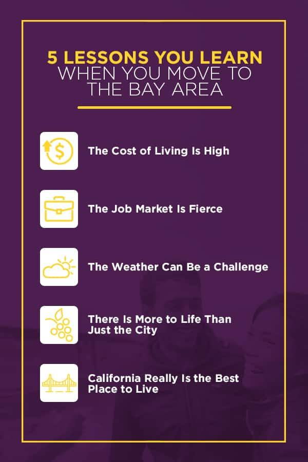 5 Things you learn when moving to the Bay Area
