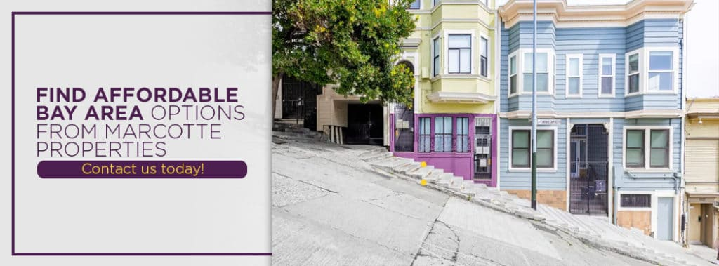 Find affordable apartments in the Bay Area with Marcotte Properties