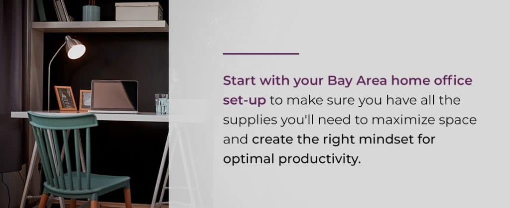 how to set up a home office in san francisco bay area