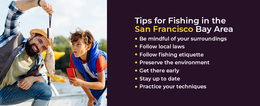 tips for fishing in the san francisco bay area